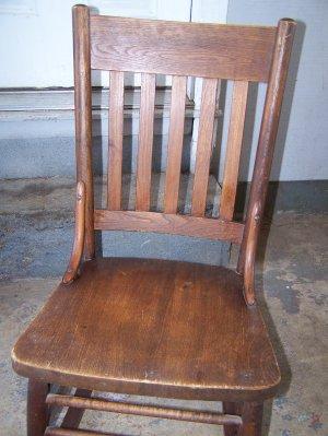 Antique rocking chair.