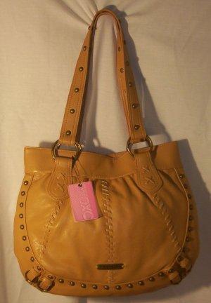 XOXO Large Womens Camel Hanover Handbag
