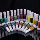 2-Way Nail Art Polish Varnish 24 Colour FREE SHIPPING [NA044]