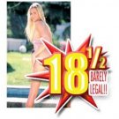 18 1/2 Barely Legal Series - 25 Different Adult DVD Titles - 4 Hours Each (White)