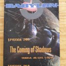 Babylon 5 Emmy VHS Video 2 episodes RARE Geometry Shadows