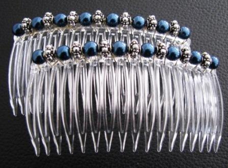 UnusualJewels Blue Pearls & Tibetan Silver