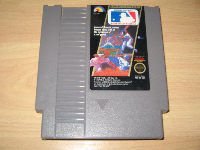 Nintendo NES MLB Major League Baseball Game