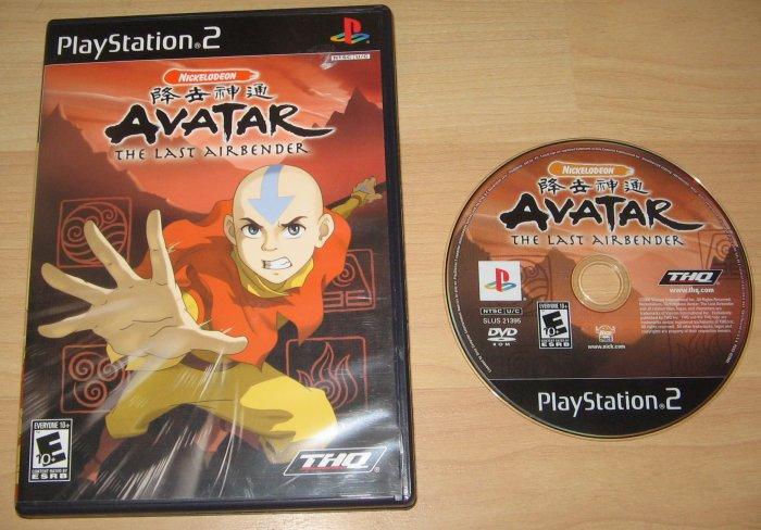 PS2 Playstation 2 Avatar the Last Airbender