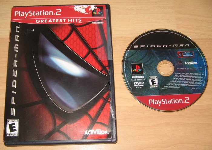 PS2 Playstation 2 Spiderman