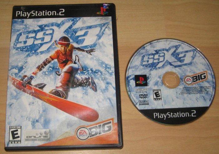 PS2 Playstation 2 SSX 3 Game