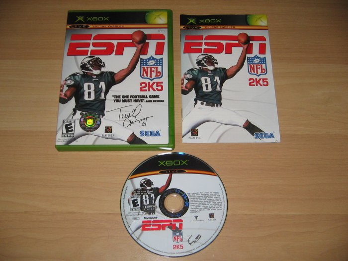 Xbox ESPN NFL 2K5 Game