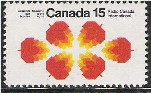 Canada # 541p - Radio Canada International