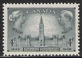 Canada #277 Parliament Building