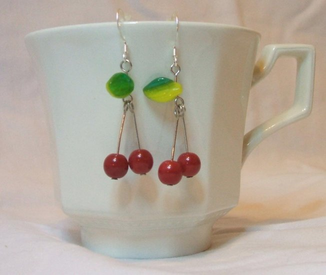 Cherry-licious Earrings