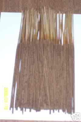 Hand dipped Sandalwood incense sticks, (12 sticks)