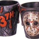 2 Jason Shot Glasses Friday the 13th Movie Collectible