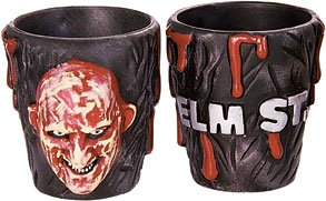2 New Freddy Shot Glasses Nightmare on Elm Street Movie