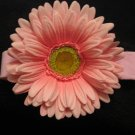 Large- New! Light Pink flower Headband