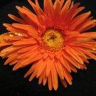 Large- Orange Flower Sequin Headband
