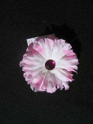 Medium Pink Flower with gem center