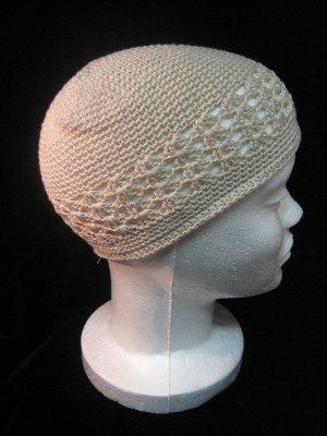Creme Crochet Hat