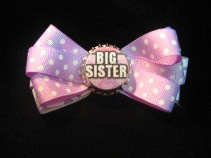 Light Purple Big Sister Bow