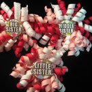 Big, Little, and Middle Sister Bottle Cap Korker Set
