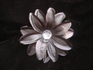 Black Tropical Flower