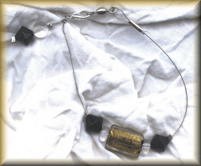 Gold Sparkles Bracelet (ENV -019)