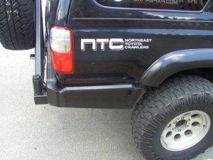 NTC Quarter Panel Sticker - Black/Grey