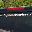 NTC - Web address sticker - red
