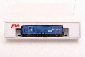 Atlas N Scale Conrail 6915 EMD SD-9 locomotive