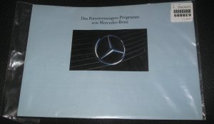 VINTAGE Das Personenwagen-Von Mercedes-Benz brochure