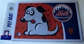 """New York Mets Pet/Dog Bowl Mat 18""""X12"""""""