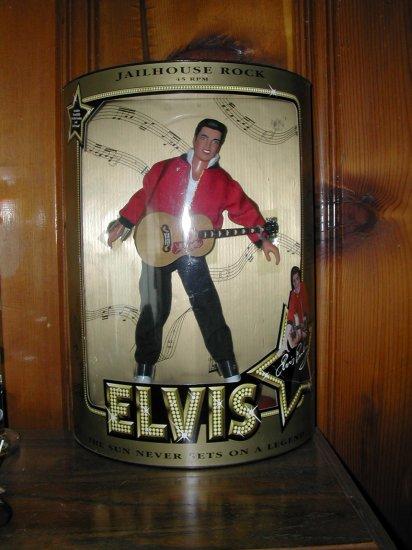 ELVIS PRESLEY JAILHOUSE ROCK 45 RPM DOLL