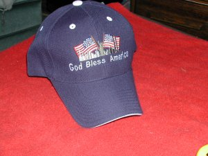 God Bless America Cap- FREE  SHIPPING