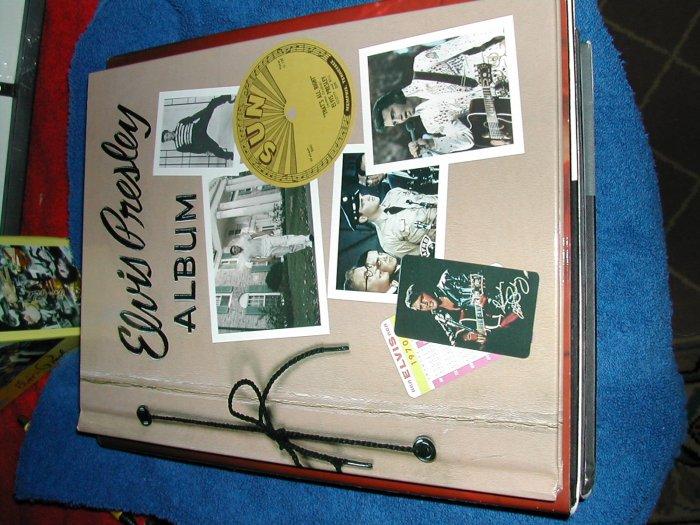Elvis Presley Photo Album 50's 60's 70's- FREE SHPPING