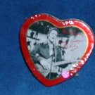 HEART SHAPED ELVIS PRESLEY CANDY TIN- FREE SHIPPING
