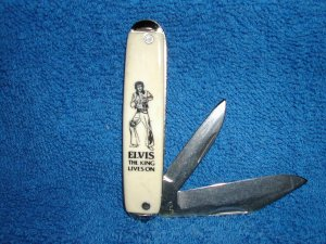 Elvis Presley Knife - free shipping