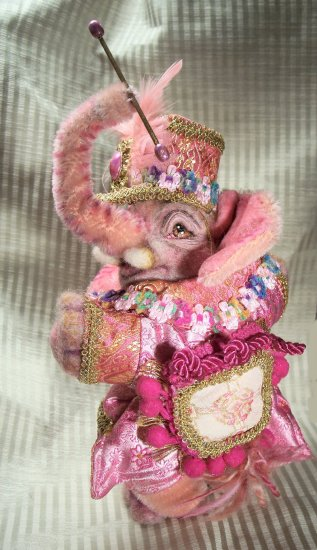 COMMISSION A LAMPSHIRE ORIGINALS OOAK ELEPHANT JUST 4 YOU