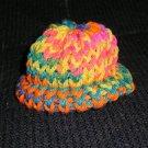Easter-Spring Knit Cap Hat Sock Monkey/doll Handmade