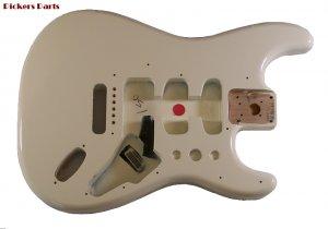 Fender Stratocaster Mexican Standard Solid Alder Body ~ Arctic White