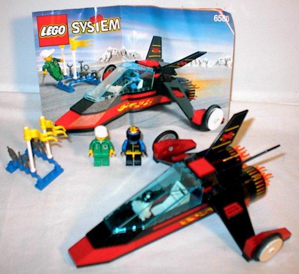 Lego town set 6580 Land Jet 7 complete