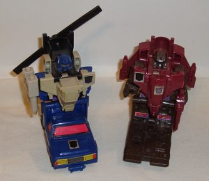 Transformers Generation 1 Duocons Battletrap & Flywheels.