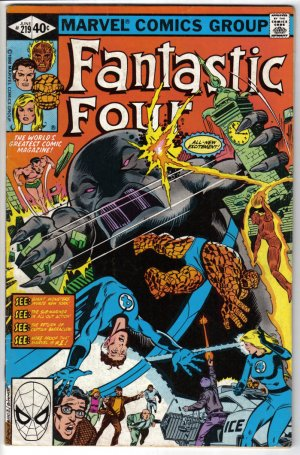 Fantastic Four #219