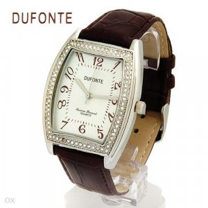 Dufonte Mens Watch with genuine crystal