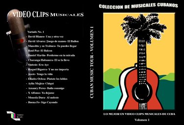 Cuban Music Clips from Havana (1 through 20).Cuban DVDs and movies-Free S&H Worldwide.