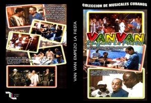 Los Van Van (Let's Party) .Cuban DVDs and movies-Free S&H Worldwide.