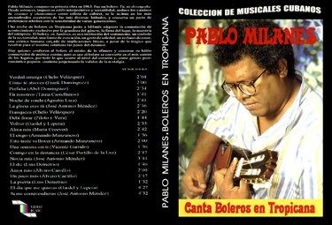 Pablo Milanes sings Boleros in Tropicana. Cuban DVDs and movies-Free S&H Worldwide.