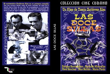 The Twelve Chairs . Cuban DVDs and movies-Free S&H Worldwide.
