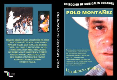 Polo Montañez. Guajiro Hug.Cuban DVDs and movies-Free S&H Worldwide.