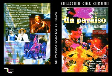 A Paradise Under the Stars (sub).Cuban DVDs and moviesFree S&H worldwide..