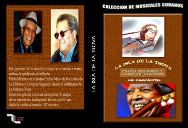 The Island of the Trova .Cuban DVDs and movies-Free S&H Worldwide.