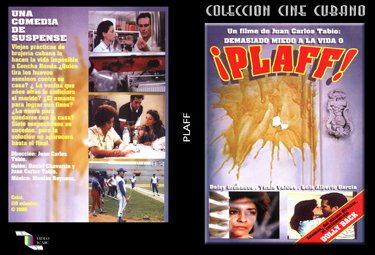 Plaff (or too afraid of life).Cuban DVDs and movies-Free S&H Worldwide.